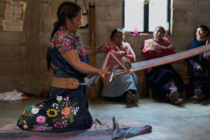 The Art of Back-Strap Loom Weaving