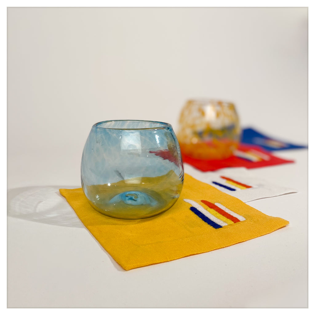 'BARRAGAN' SET OF 4 COCKTAIL COASTERS