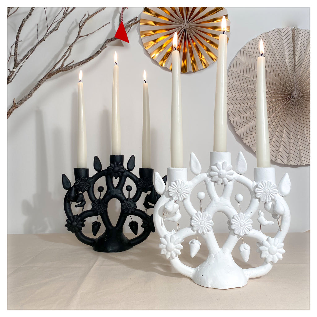 'TREE OF LIFE' CANDLE HOLDER