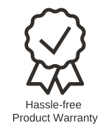 hassle-free product warranty