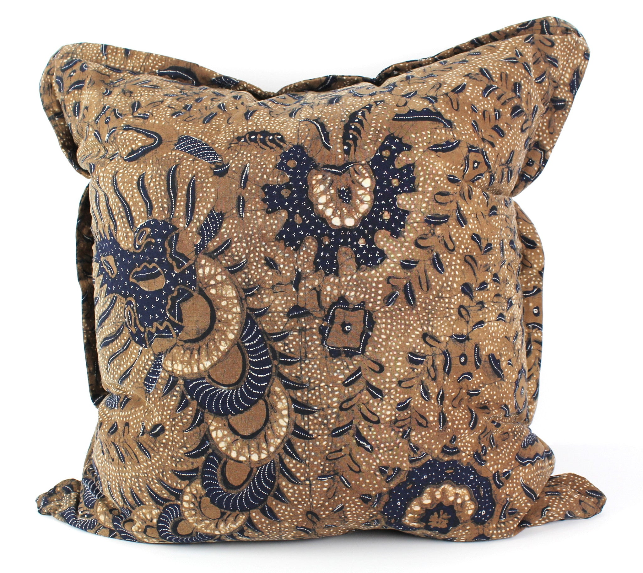 antique batik pillow