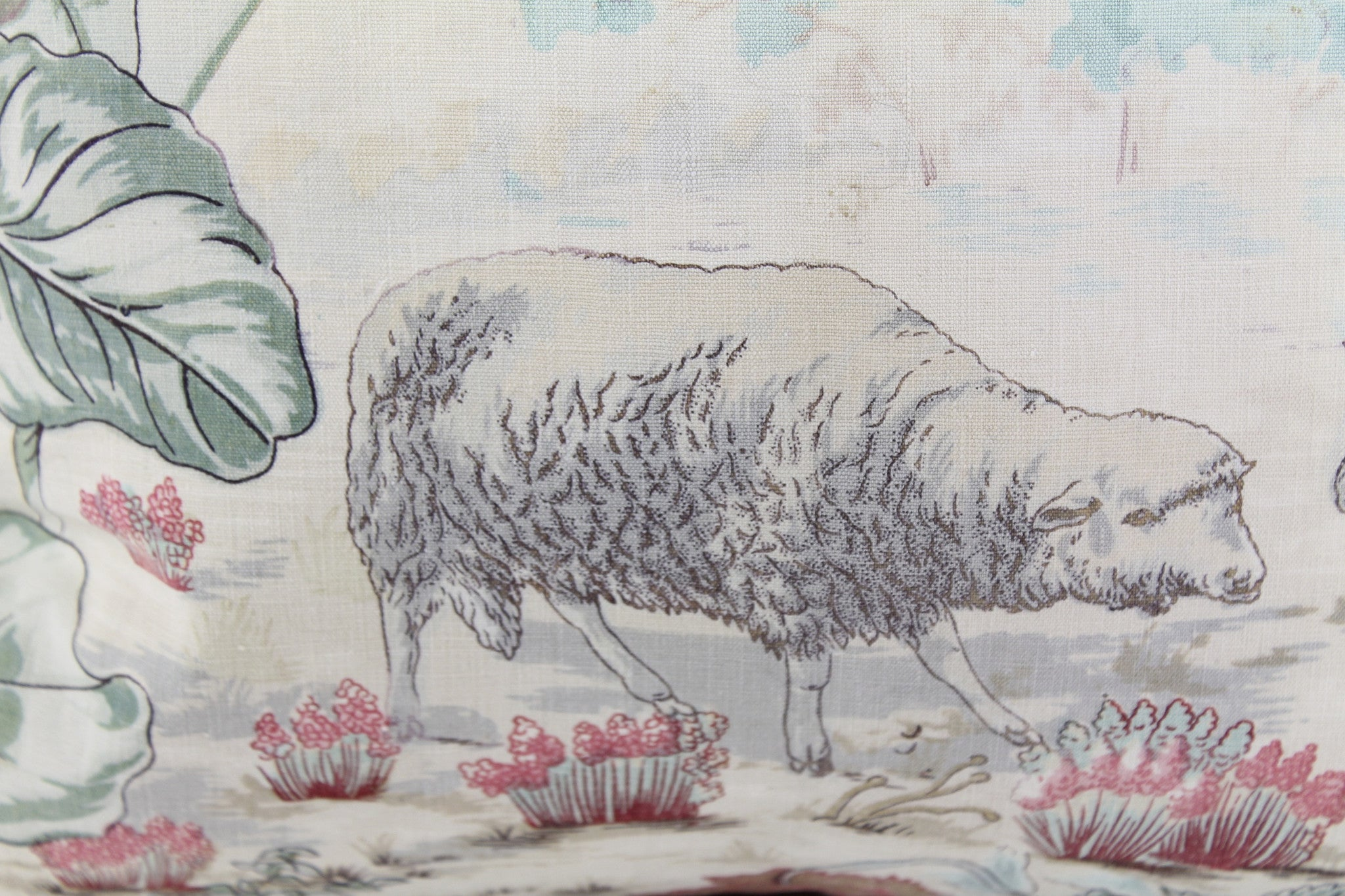 Moutons Toile