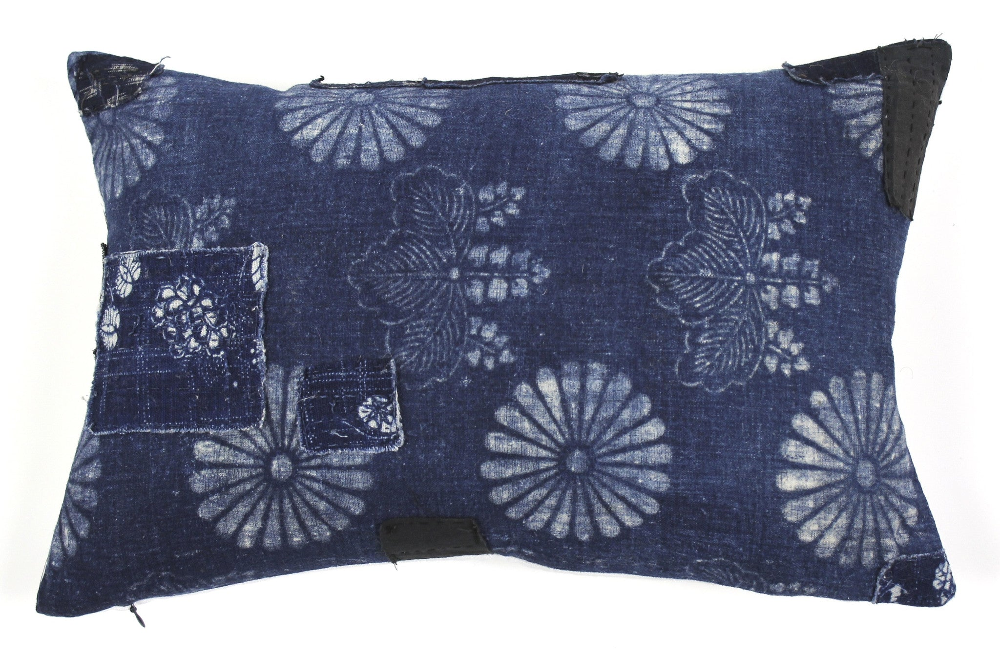 Boro indigo pillow Japan