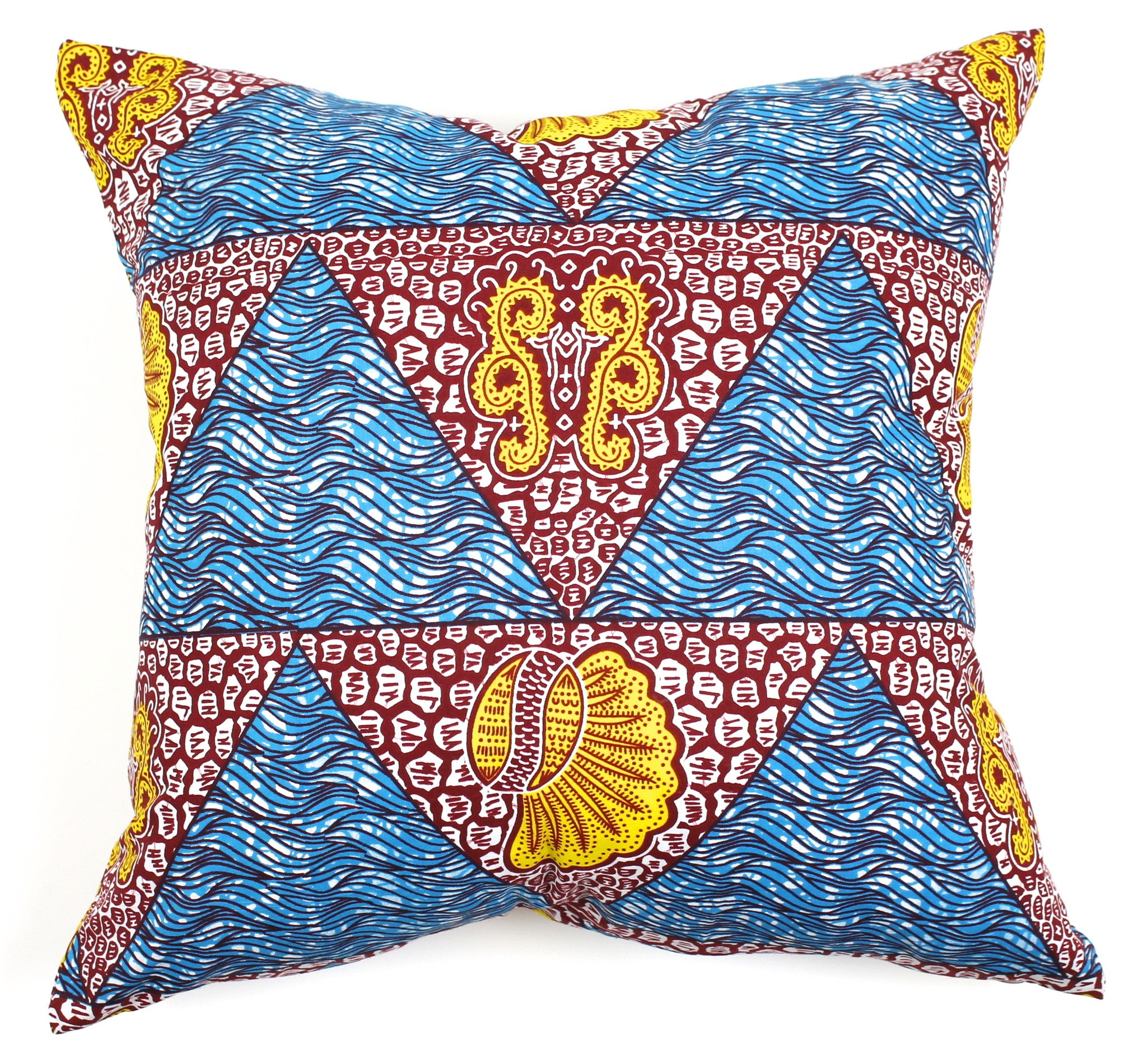 African dutch wax pillow