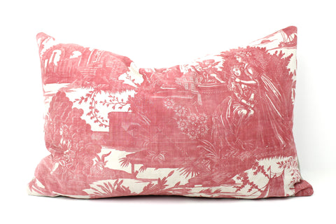 Quilted Toile de Jouy