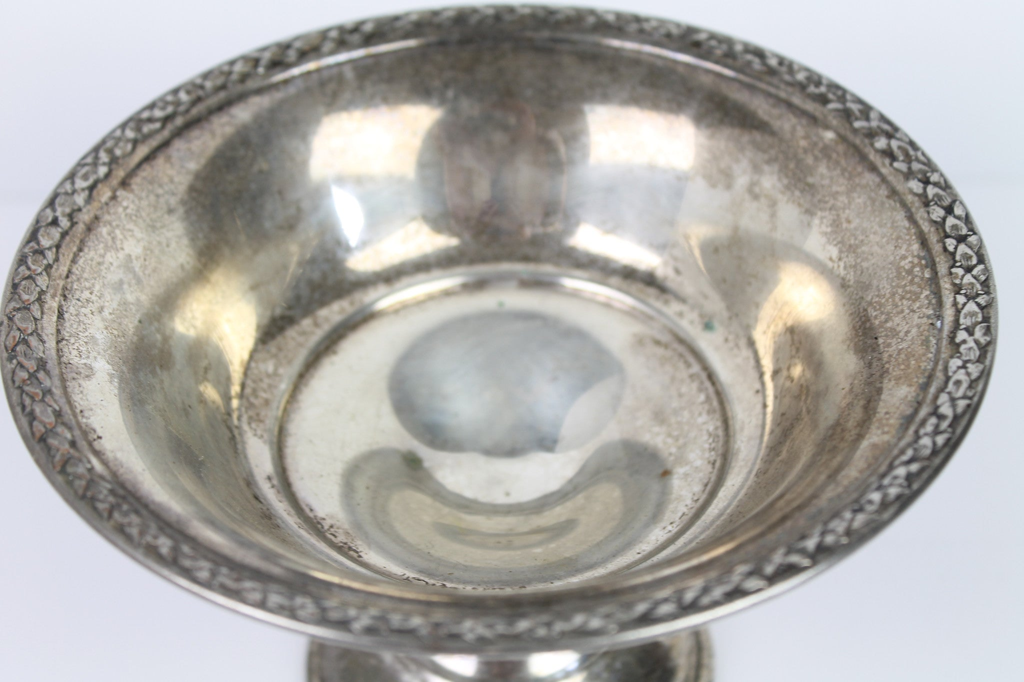 Silverplate Compote