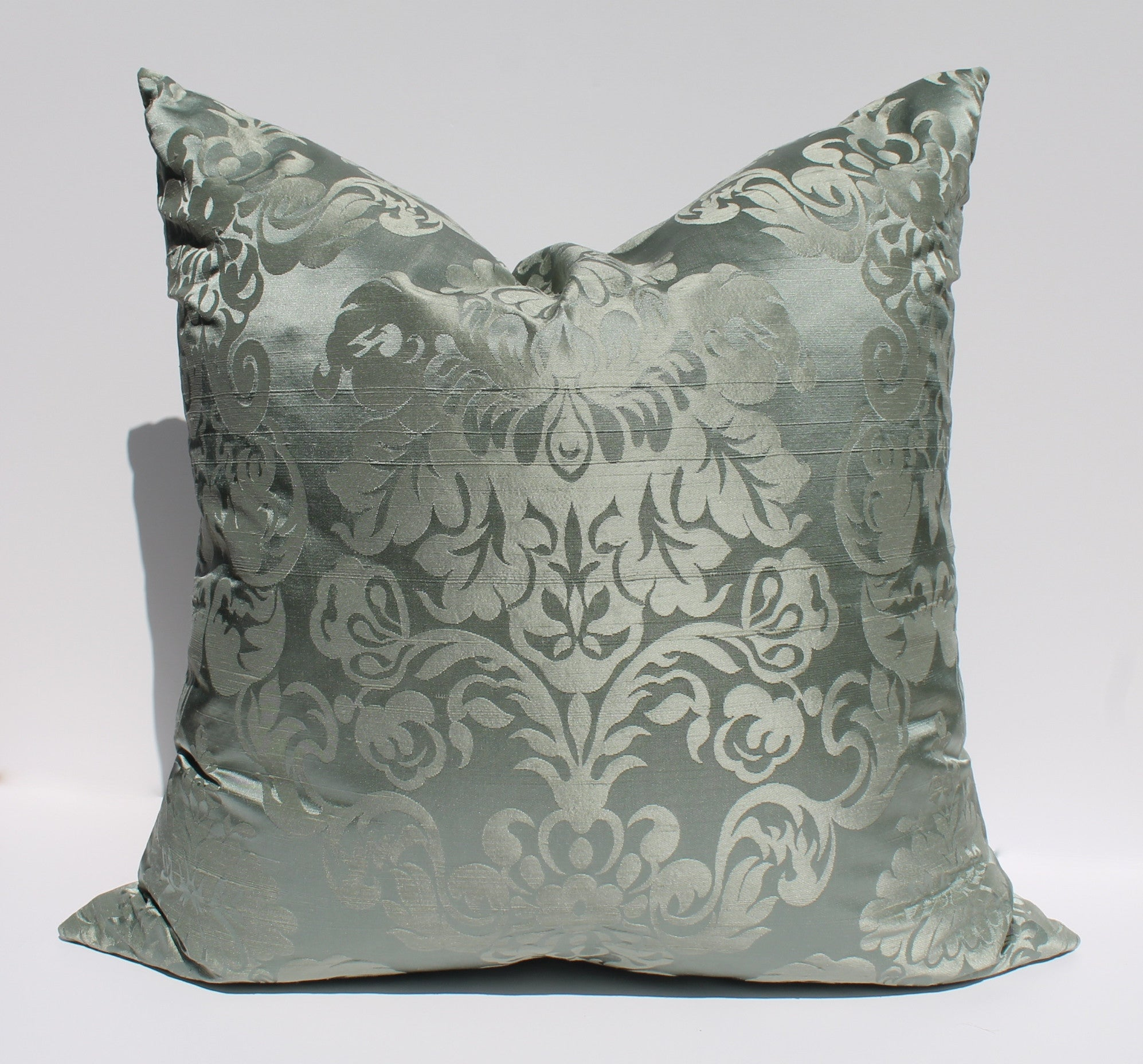 Silk Damask - Celadon