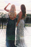 Mermaid/Trumpet Evening Dress Sequins Lace Long Formal Dress QP2346|SQOSA