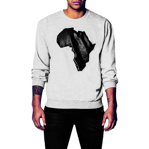 Africa leather Sweater