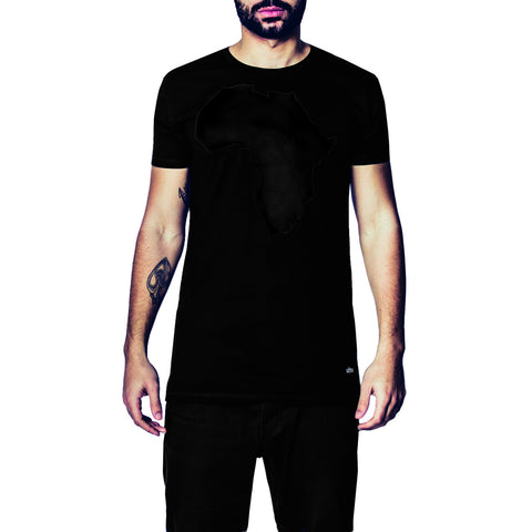 Africa All Black T-Shirt