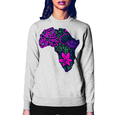 Africa Flower Sweater