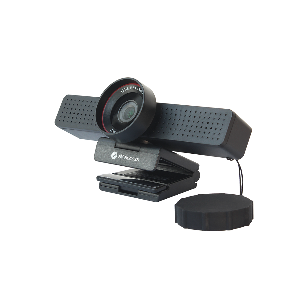 BizEye50 1080P HD Business USB Webcam w/ Built-in Mic and Privacy Cover, Plug & Play, Ideal for Video Conference or Live Streaming (Only available in UK)