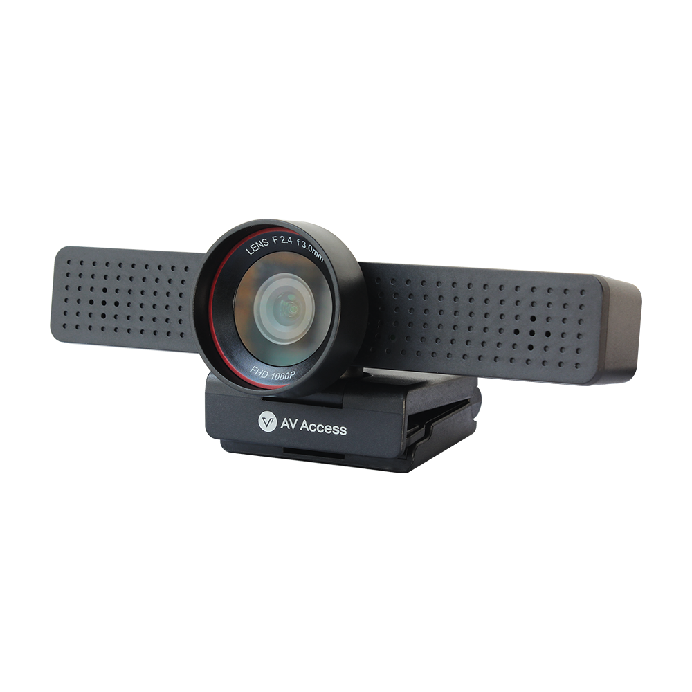BizEye50 1080P HD Business USB Webcam w/ Built-in Mic and Privacy Cover, Plug & Play, Ideal for Video Conference or Live Streaming