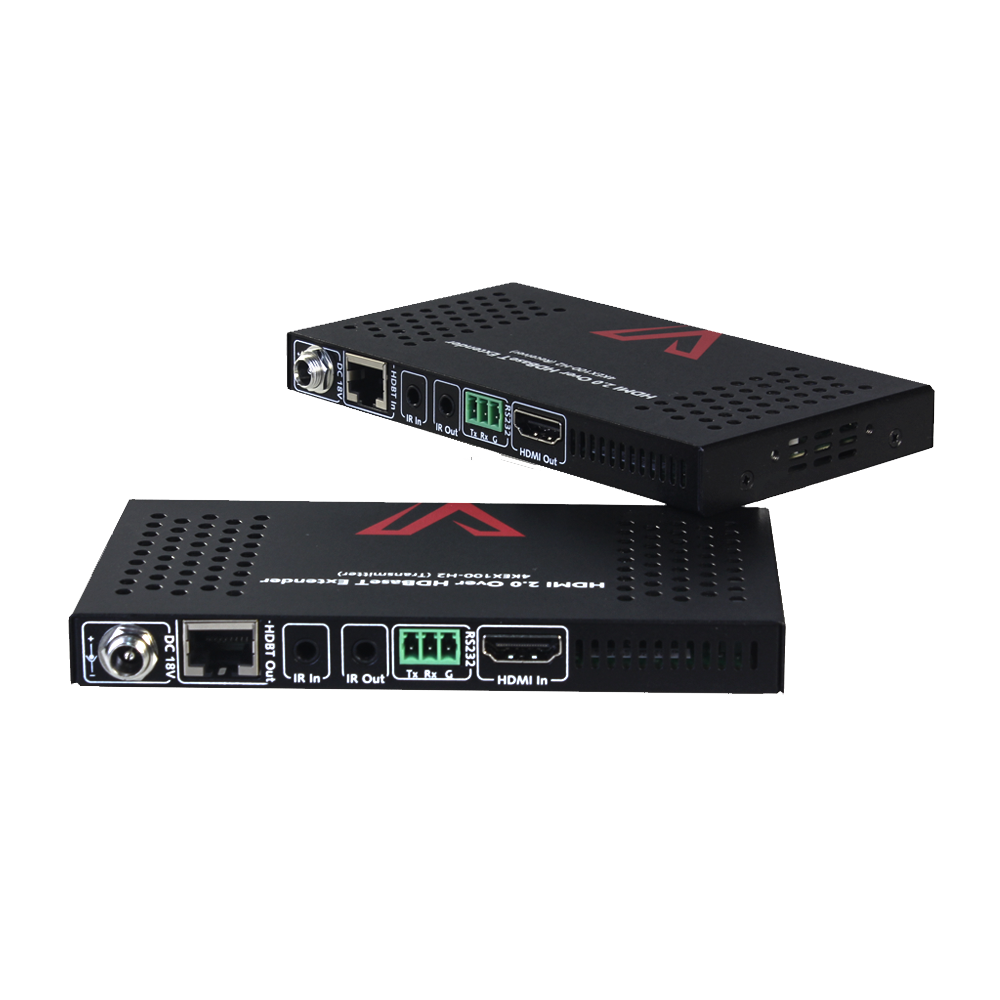 New Generation 4K HDMI 2.0 Extender, 2-Way IR, PoE & RS232