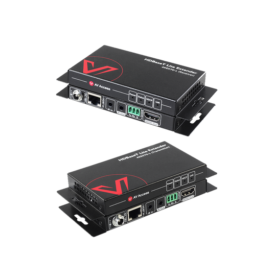 Best Seller-HDBaseT Extender 4K@60Hz, Supports Bi-directional IR, PoE and RS232