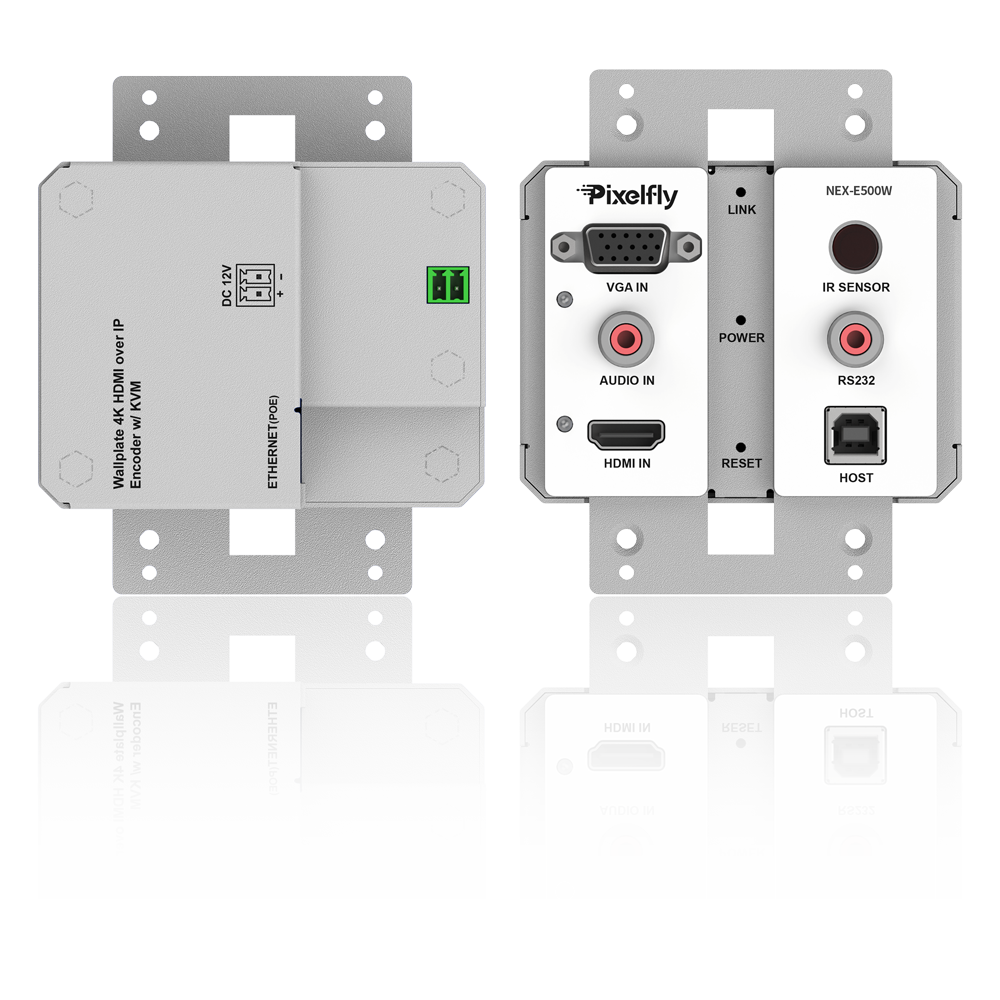 Brand-New 4K IP Wall Plate Encoder, Low Latency, Limitless & Scalable for Matrix/Video Wall