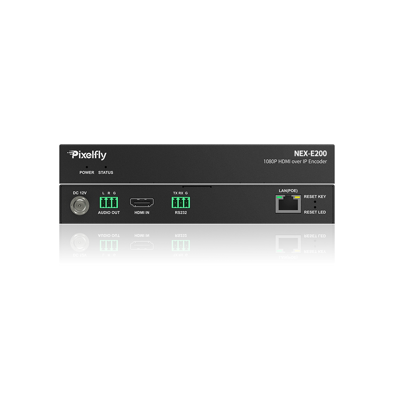 Economical 1080P IP Encoder, Limitless & Scalable for Matrix/Video Wall