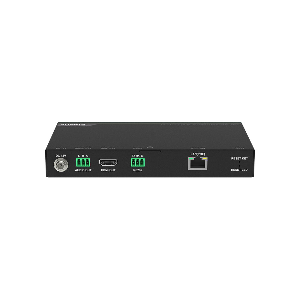 Economical 1080P IP Decoder, Limitless & Scalable for Matrix/Video Wall