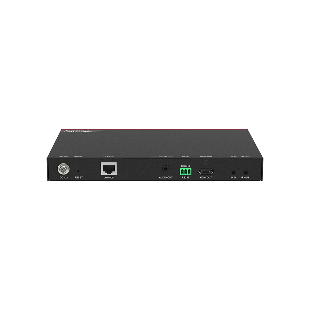High-End 4K IP Decoder, Low Latency, Limitless & Scalable for Matrix/Video Wall