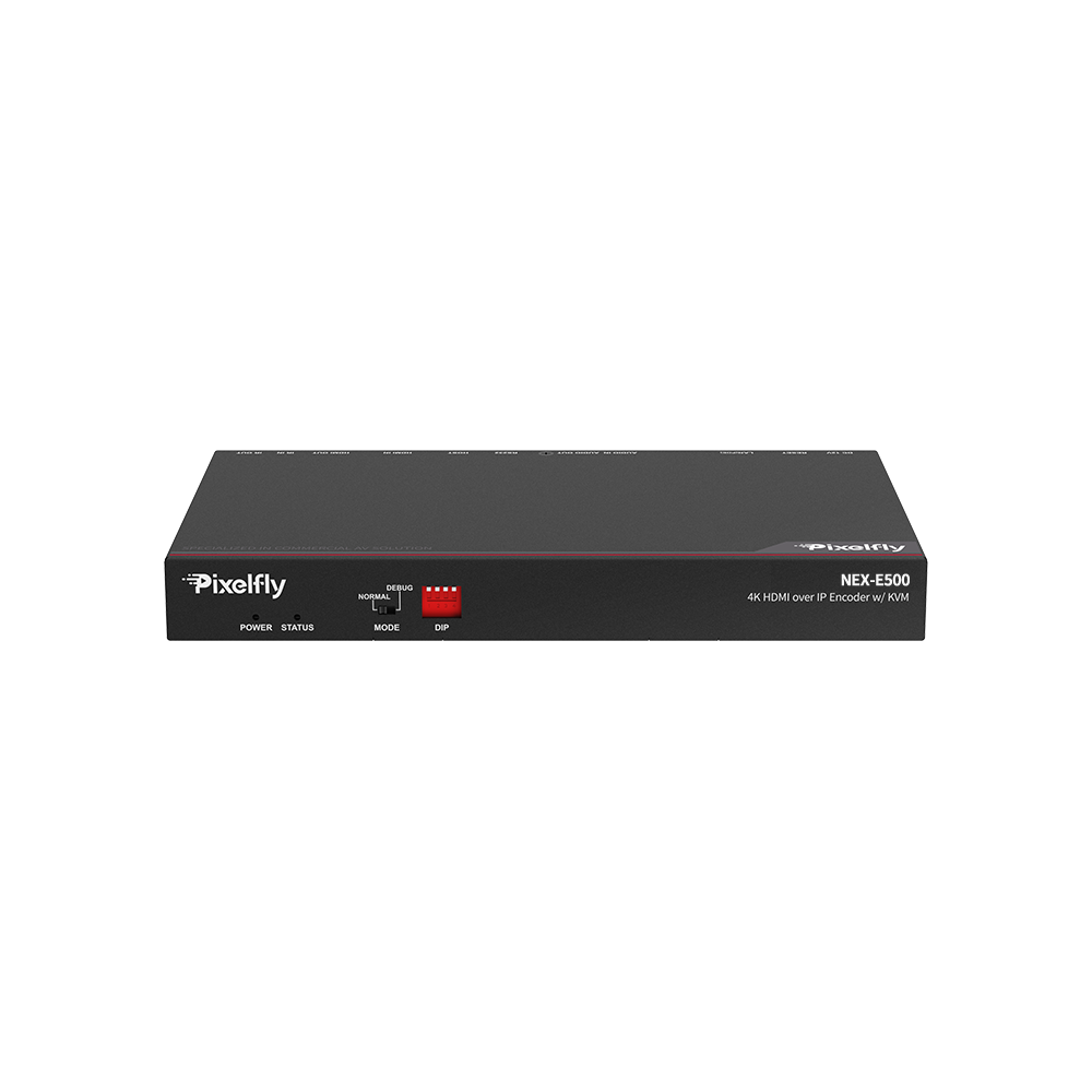 High-End 4K IP Encoder w/ Fiber, Low Latency, Limitless & Scalable for Matrix/Video Wall