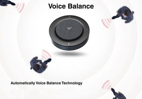 AnyCo A3 Speakerphone_Wide Coverage & Voice Balance