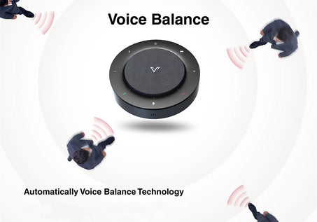 AnyCo A5 Speakerphone_Wide Coverage & Voice Balance