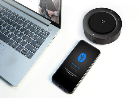 AnyCo A5 Speakerphone_Plug & Play, Truly Wireless
