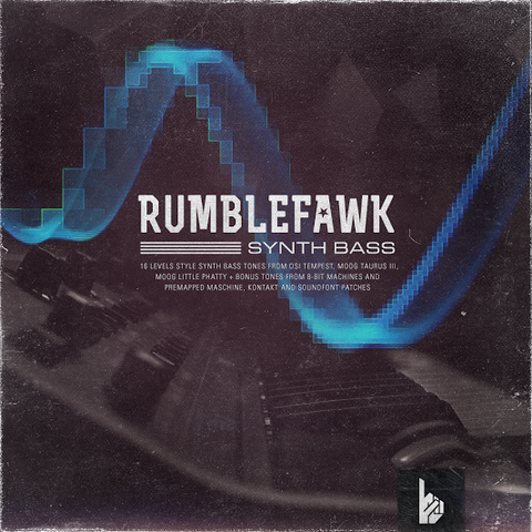 RUMBLEFAWK Synth Bass (Digital Download)