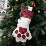 Christmas-Stocking-Personalize-Pet-Dog-Cat-Paw-Socks-Gift-Bags-Holder-New-Year-Decorations-For-Home