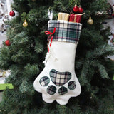 Classic-Personalized-Pet-Christmas-Stocking-Large-Embroidered-Dog-Stocking-Paw-Print-Stocking-Christmas-Pet-Stocking-Dog-Cat