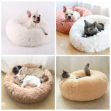 Fleece-Cat-Beds-Round-Pet-Bed-For-Cats-Dog-Plush-Bed-House-For-Cat-Kitten-Marshmallow_3