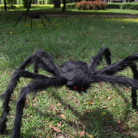 Hairy-Giant-Spider-Decoration-Halloween-Prop-Haunted-House-Decor-Party-Holiday-Spider-Decorations
