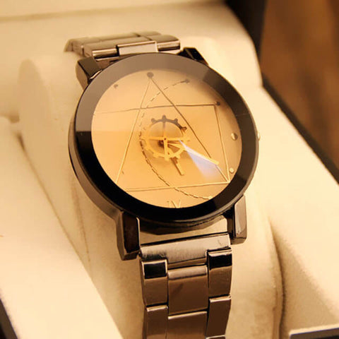 Lotus Triangle Watch For Men