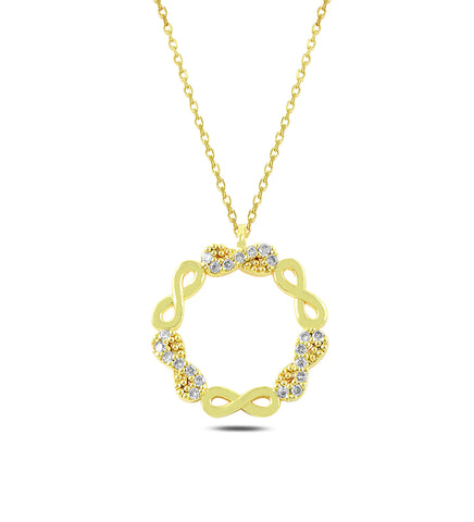 eternity-circle-necklace-infinity -circle-necklace-gold-infinity-circle-necklace-meaning