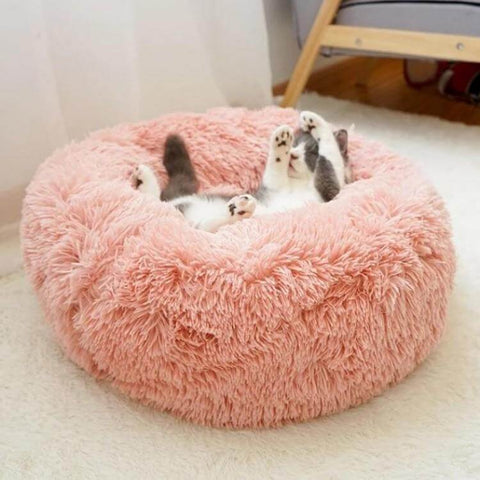 fake-fur-pet-bed-Pet cat-dog-bed-bench-sofa-kennel-house-mats