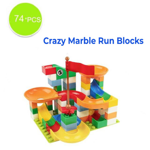 Crazy Marble Run Blocks