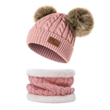 toddler-girl-pom-pom-hat-Fur-Pom-Pom-Beanies-Baby-Showe-Gift