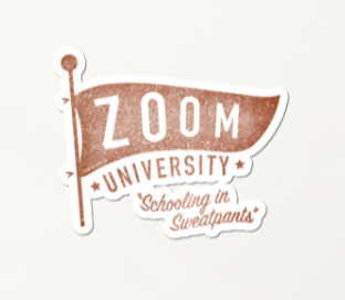 Zoom University Sticker
