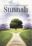 What Takes a Person Out of the Sunnah by Shaykh Ahmad an-Najjar