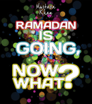 Ramadan Is Going, Now What? CD by Murtaza Khan