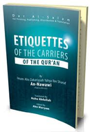 Etiquettes of the Carriers of the Quran by Imam Nawawi
