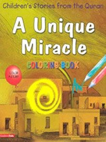 A Unique Miracle Colouring Book by Goodword