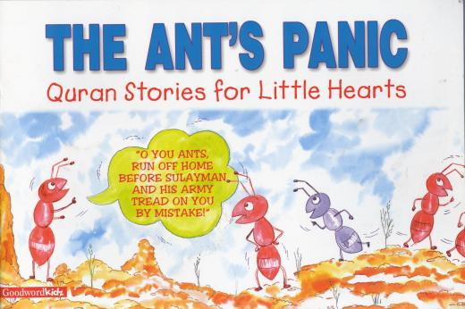 The Ants Panic Story Book by Saniyasnain Khan