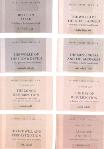 Islamic Creed Series 8 Volumes by Umar S. al-Ashqar