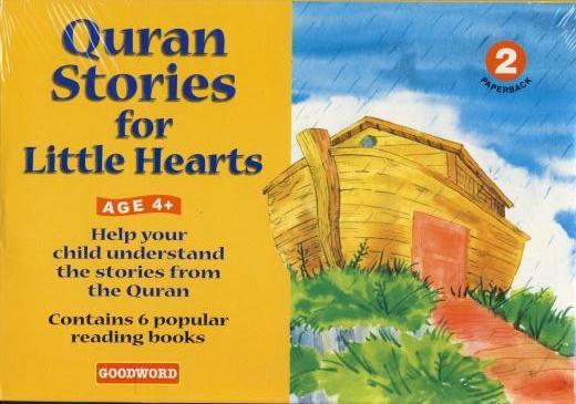 Quran Stories for Little Hearts 2 (6 books set) by Goodword Kidz