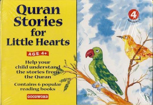 Quran Stories for Little Hearts 4 (6 books set) by Goodword Kidz