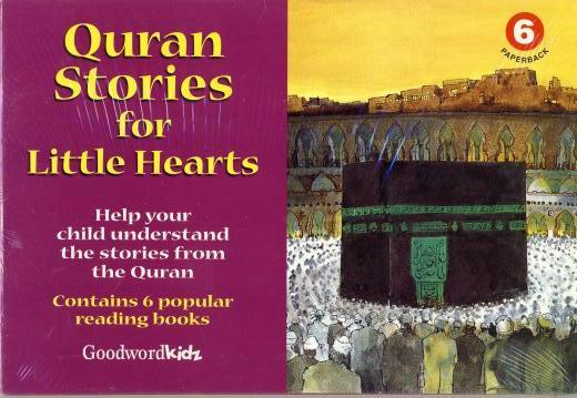 Quran Stories for Little Hearts 6 (6 books set) by Goodword Kidz