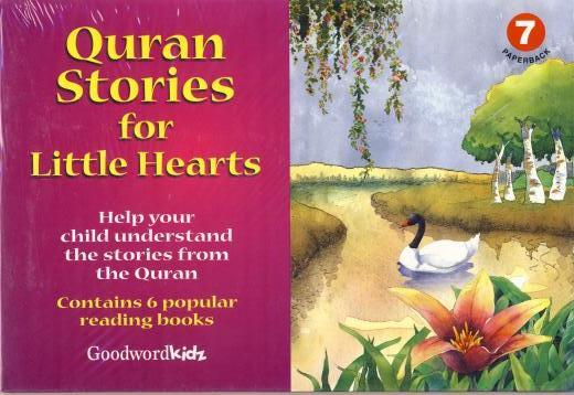 Quran Stories for Little Hearts 7 (6 books set) by Goodword Kidz