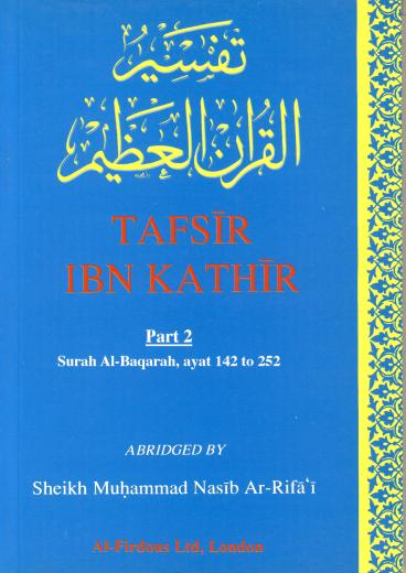 Tafseer Ibn Kathir Part-2 By Al-Firdous Ltd