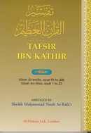 Tafseer Ibn Kathir Part-4 By Al - Firdous ltd.